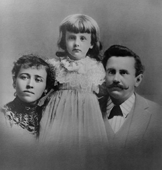 Уильям Портер с семьей. 1890-е годы