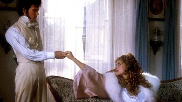 """Санин и Мария Николаевна х/ф """"Вешние воды"""", реж. Ежи Сколимовский. Франция, Великобритания, Италия, 1989"""