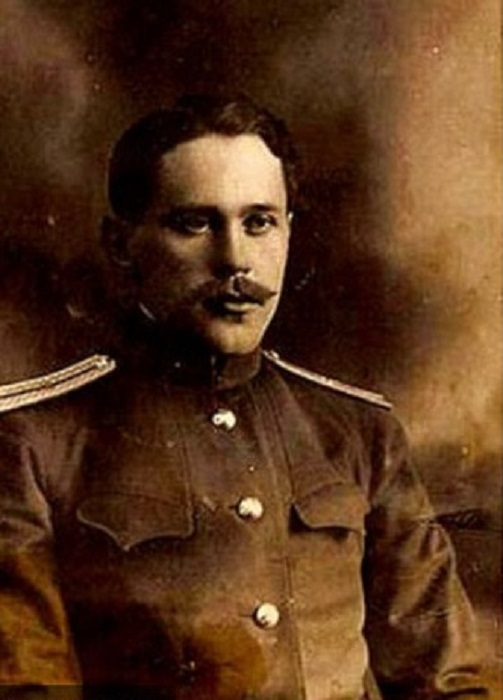 Поручик К.Голицын 1918 г.