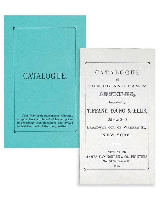 Первый каталог Тиффани