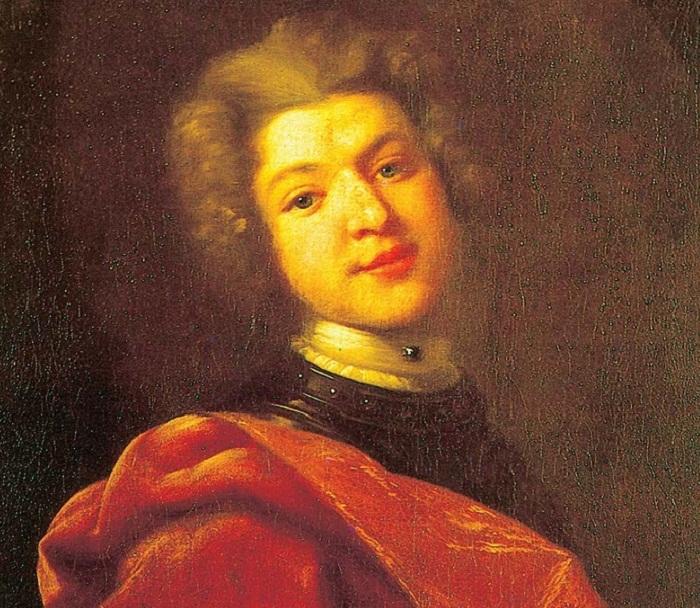 Портрет С.Г. Строганова Художник И.Н. Никитин 1726 г.