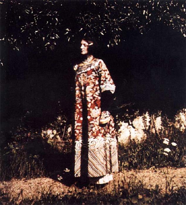 Портрет Эмили Флеге 1910