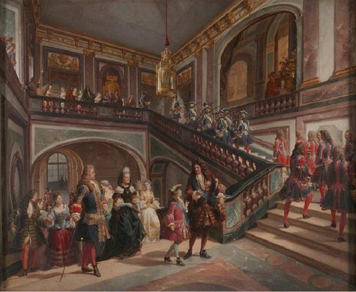Юный король Людовик XV