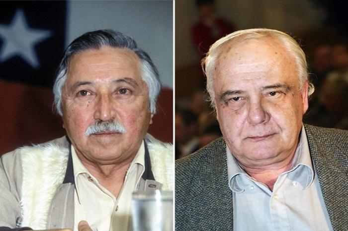 Луис Корвалан и советский диссидент Владимир Буковский