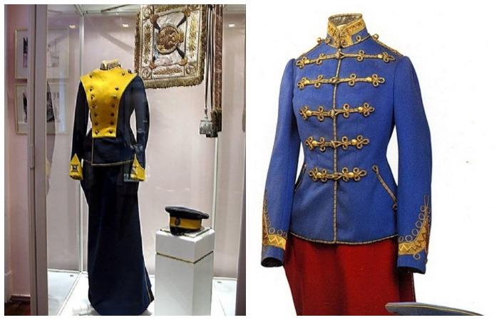Мундирные платья Татьяны и Ольги