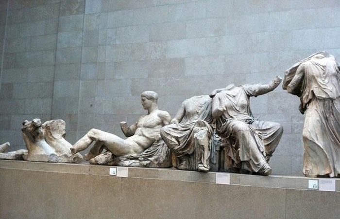 Скульптурная группа из Парфенона в британском музее