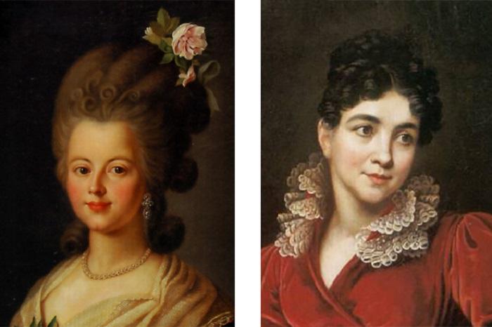 Фаворитки Павла I, Екатерина Нелидова и Анна Лопухина