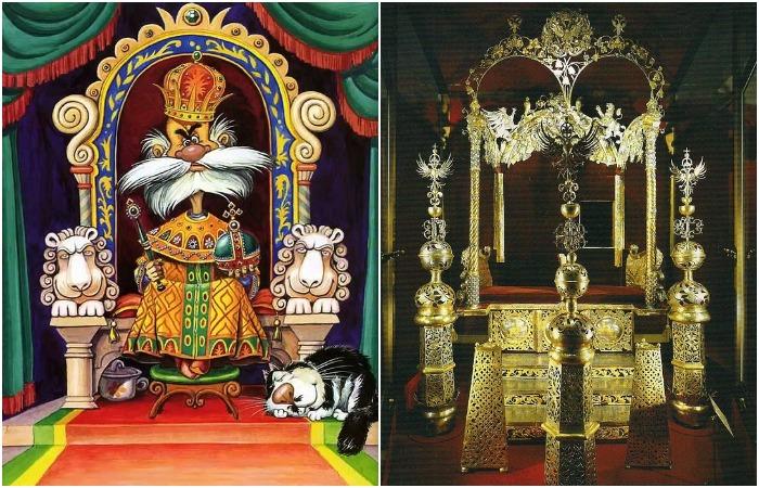 «Жил-был сильно могучий царь»