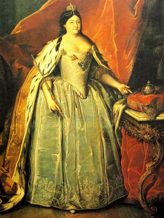 Генрих Бухгольц (1735-1781. Портрет императрицы Анны Иоанновны