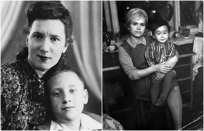 Знакомые всем лица  знаменитых поэтов и не очень знакомые лица их матерей