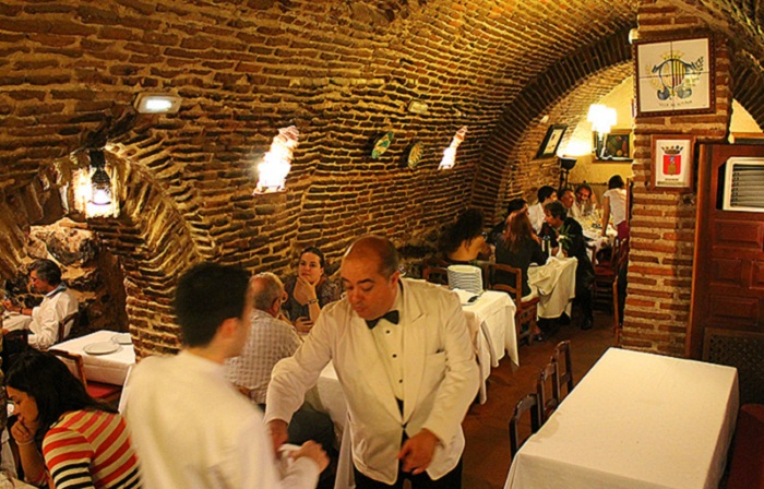 Ресторан Sobrino de Botin, Мадрид