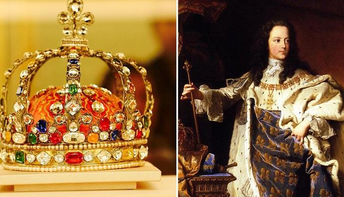Корона Людовика XV - одна из самых великолепных корон в мире