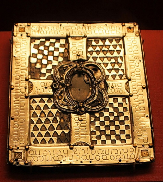 Ирландский религ. манускрипт 750 г.