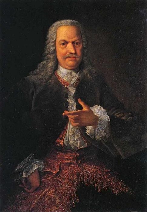Гроот Георг Кристофор. Портрет А. Н. Демидова. 1745