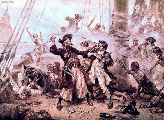 Сражение на палубе