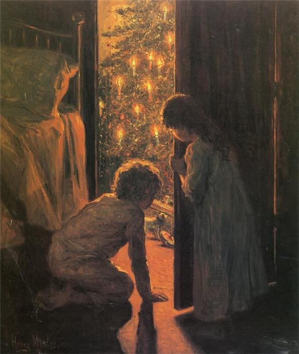 Henry Mosler. «Рождество»