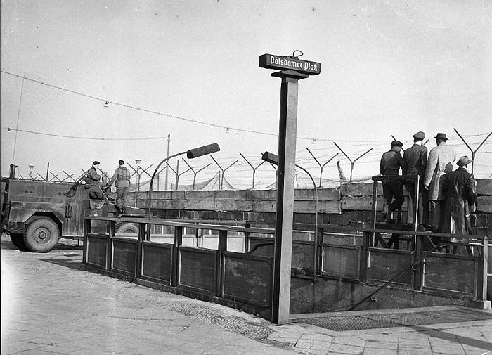 Вход в метро на Потсдамской площади, 1961 год