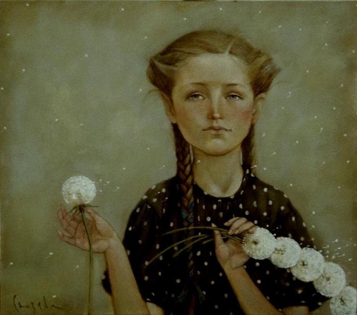 Наталья Сюзева. Венок из одуванчиков 2011 г.