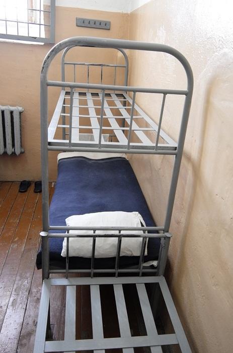 Кровать, на которой спал Василий Сталин