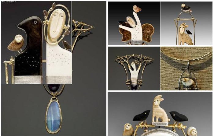 Самобытные украшения из мастерской лесной феи Кэролин Моррис Бах