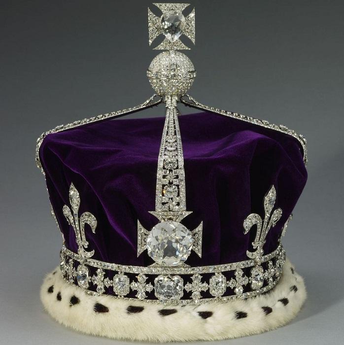 Корона королевы-матери королевы Елизаветы 1937 год