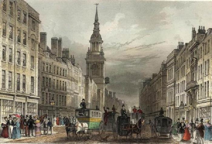 Чипсайд, 1837 год