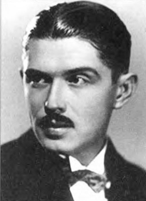 Дмитрий Быстролетов Автопортрет 1926 год