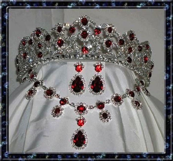 Рубиновая парюра императрицы Жозефины