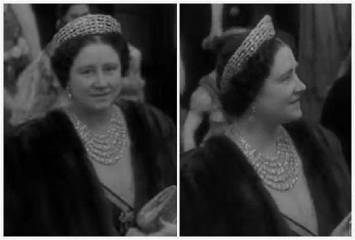 Королева-мать в драгоценностях Гревилл