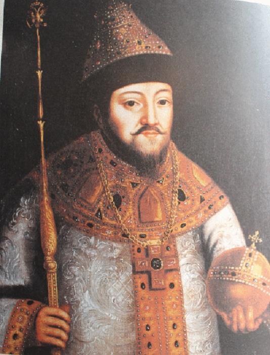 Бармы царя Михаила Федоровича