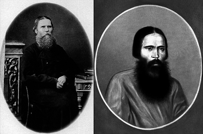 Яков Иванович Лабзин (1827-1891).  <br>Василий Иванович Грязнов (1816-1869)
