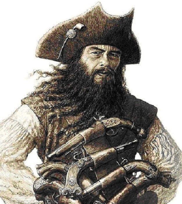 Эдвард Тич Черная борода