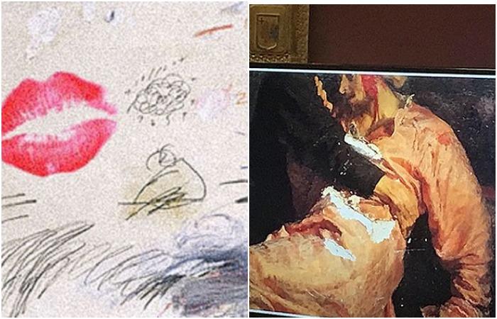 От поцелуя до ножа: Мировые шедевры, пострадавшие от рук вандалов