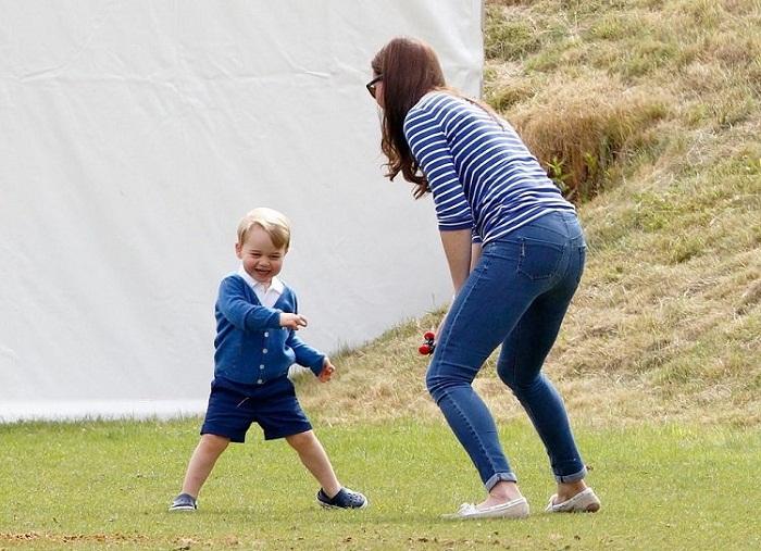 Кейт и Джордж, июнь 2015 год