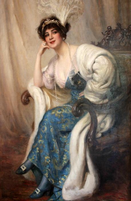 Польская оперная певица Ганна Вальска