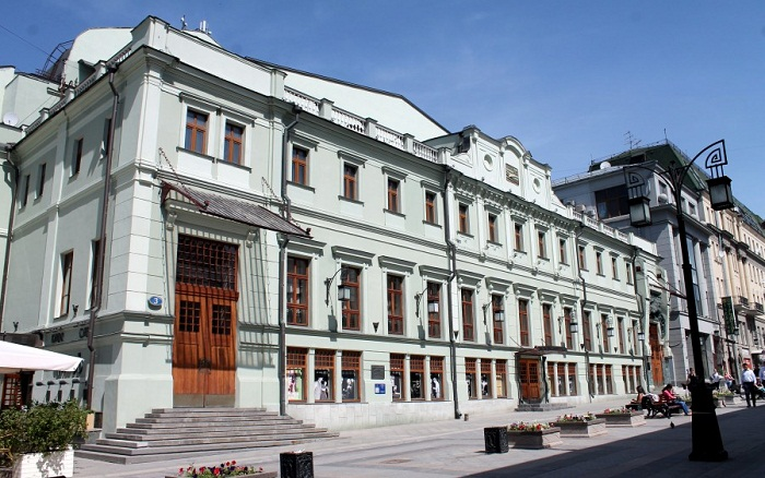 Здание МХТ им.Чехова в наши дни