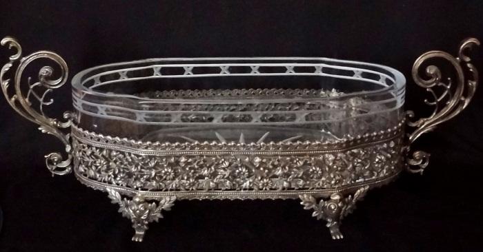 Ладья. Серебро, хрусталь, 1890 г.