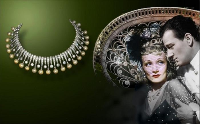 "Марлен Дитрих в ожерелье от Джозефа. ""Seven Sinners""(1940)"
