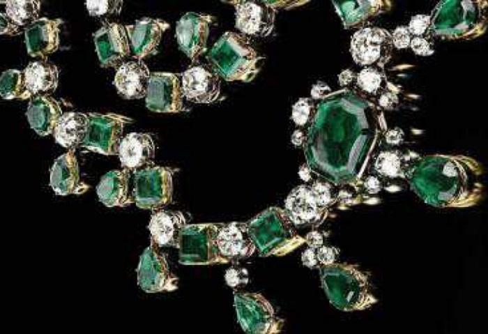 Изумрудное ожерелье Екатерины II