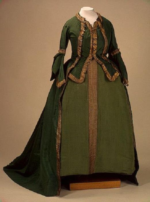 Мундирное платье Преображенского полка 1763 год
