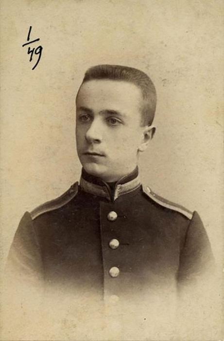 Владимир Май-Маевский в молодости