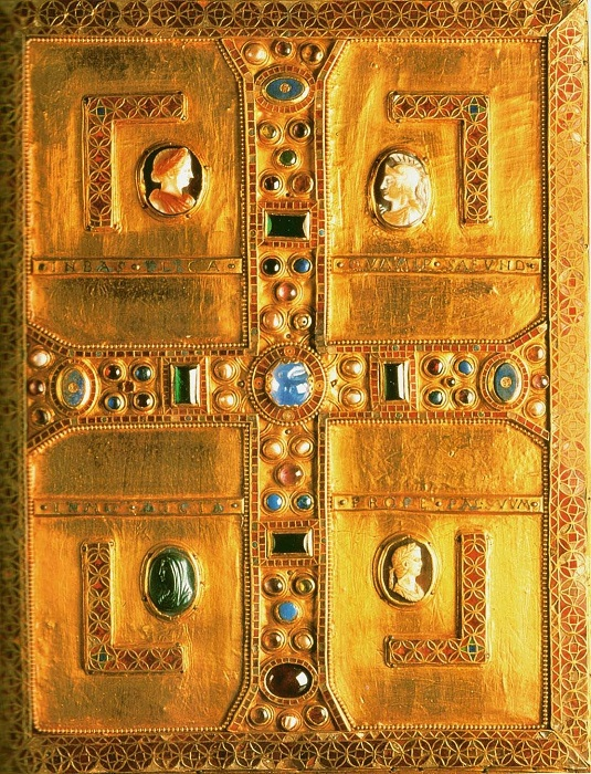 Евангелие лангобардской королевы Теоделинды. Начало 7 века
