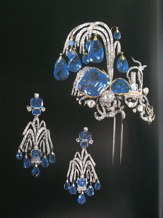 Эгрет - украшение для причёски или шляпы. 1750-е гг.