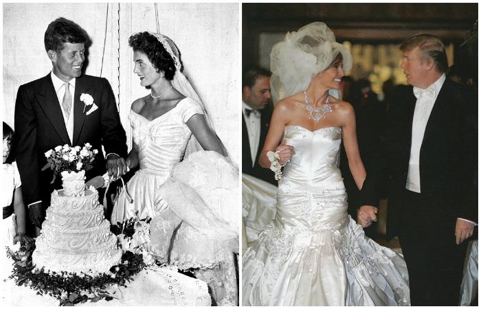 Избранницы президентов США и их свадебные платья