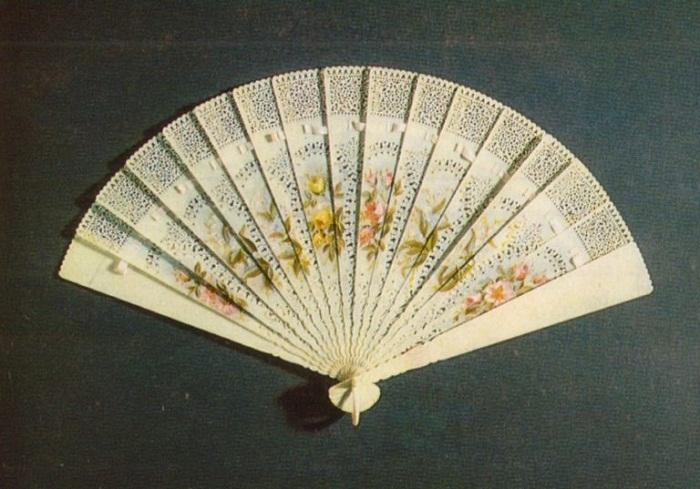 Веер. Вторая половина XIX века.