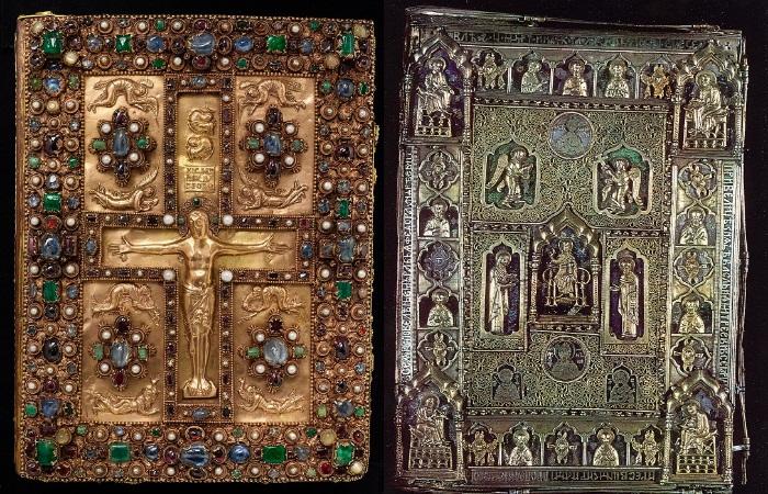 Искусство и вера: Великолепные «одежды» средневековых книг
