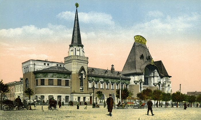 Ярославский вокзал в начале XX века