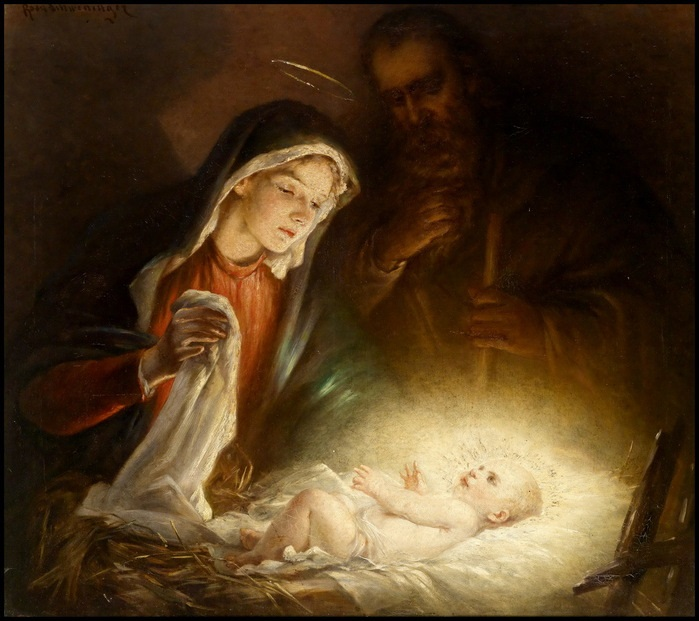 Rosa Schweninger. «Рождение Христа»
