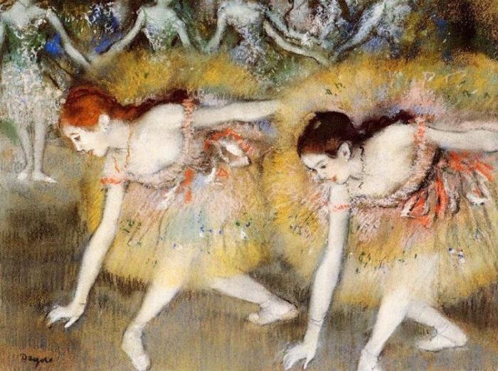 Балерины на поклонах