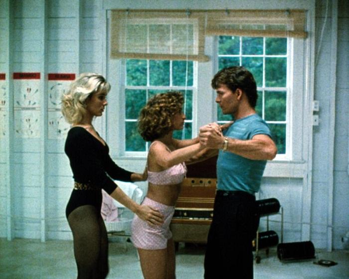 На съемках фильма Грязные танцы